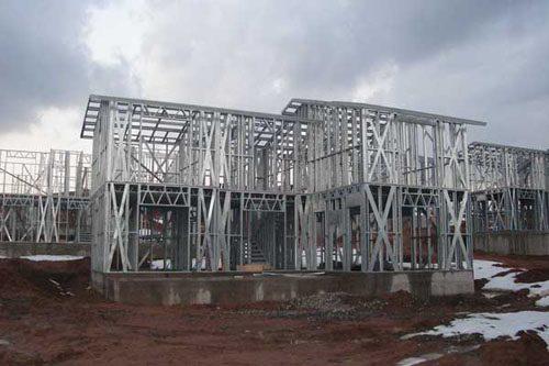 Здания на основе облегчённого металлического каркаса в Миассе